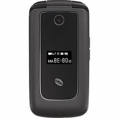 Flip Prepaid Carrier Cell Big Keyboard 4G 2 Black