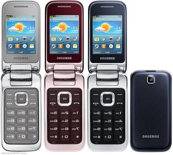 <font><b>Samsung</b></font> C3595 Unlocked WCDMA Black Stylish <font><b>Flip</b></font> Refurbished refurbished