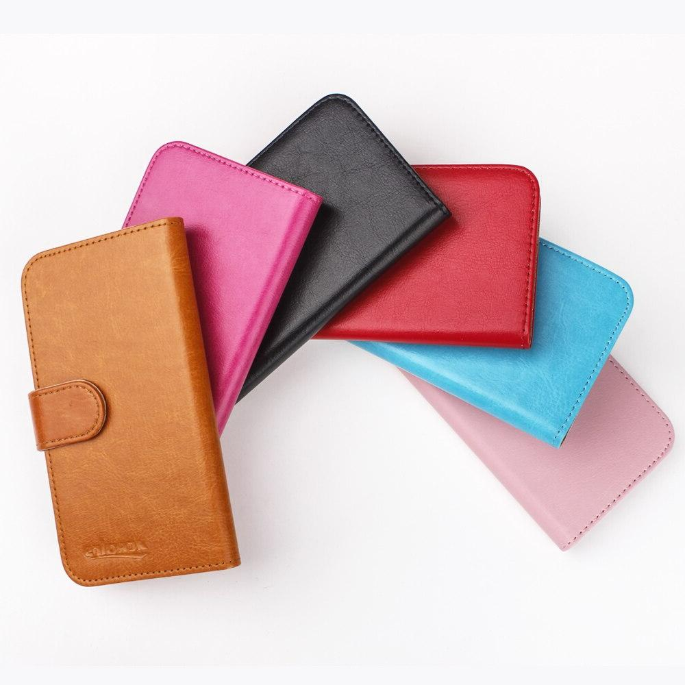 <font><b>Doro</b></font> Case 6 Colors Soft Leather Cover Credit Card Wallet