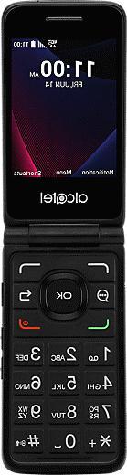 Alcatel GO FLIP V - Verizon 4G LTE Basic Phone - Black