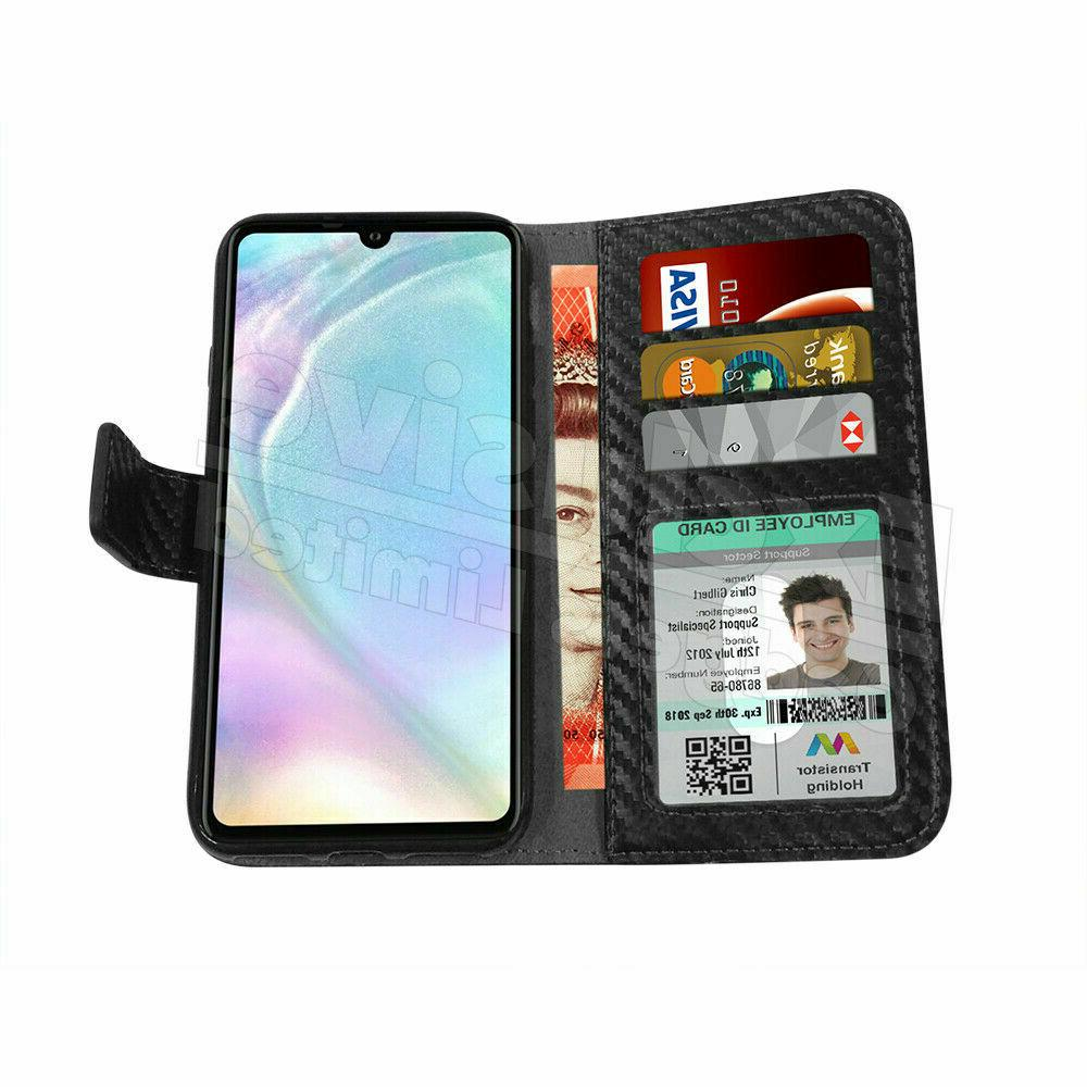 For Y6 Phone Magnetic Wallet Stand Cover