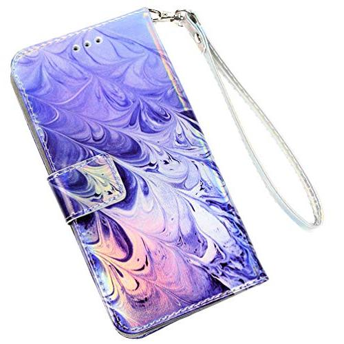 iPhone iPhone Wallet Flip Design Kickstand Shock Technology Bumper Skin Closure for 8/7 by Badalink