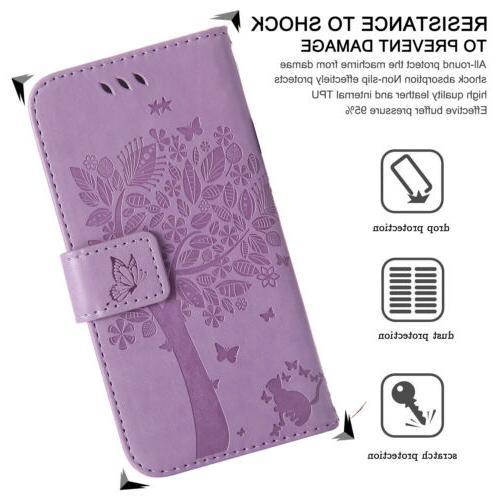 For SE Gen Magnetic Wallet Case Cover