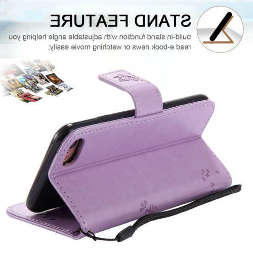 For SE 2nd Gen Wallet Flip Case Cover
