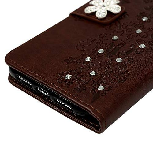 Badalink iPhone Case, iPhone Case Wallet Flip Leather Soft Shell Card Slot Stylus Pen iPhone 6.1 Inch Brown