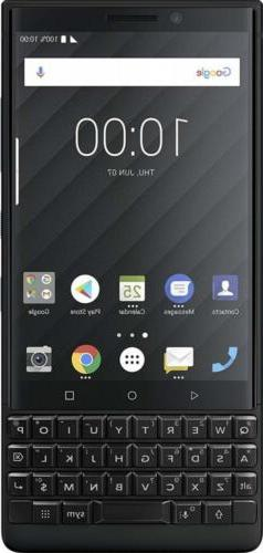 BlackBerry KEY2 Black Unlocked Android Smartphone  4G LTE, 6