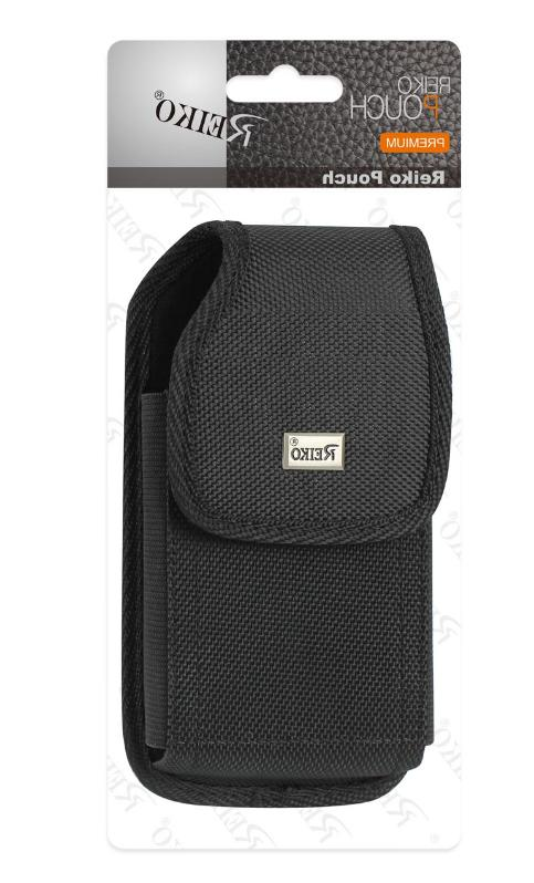 rugged vertical belt clip holster case