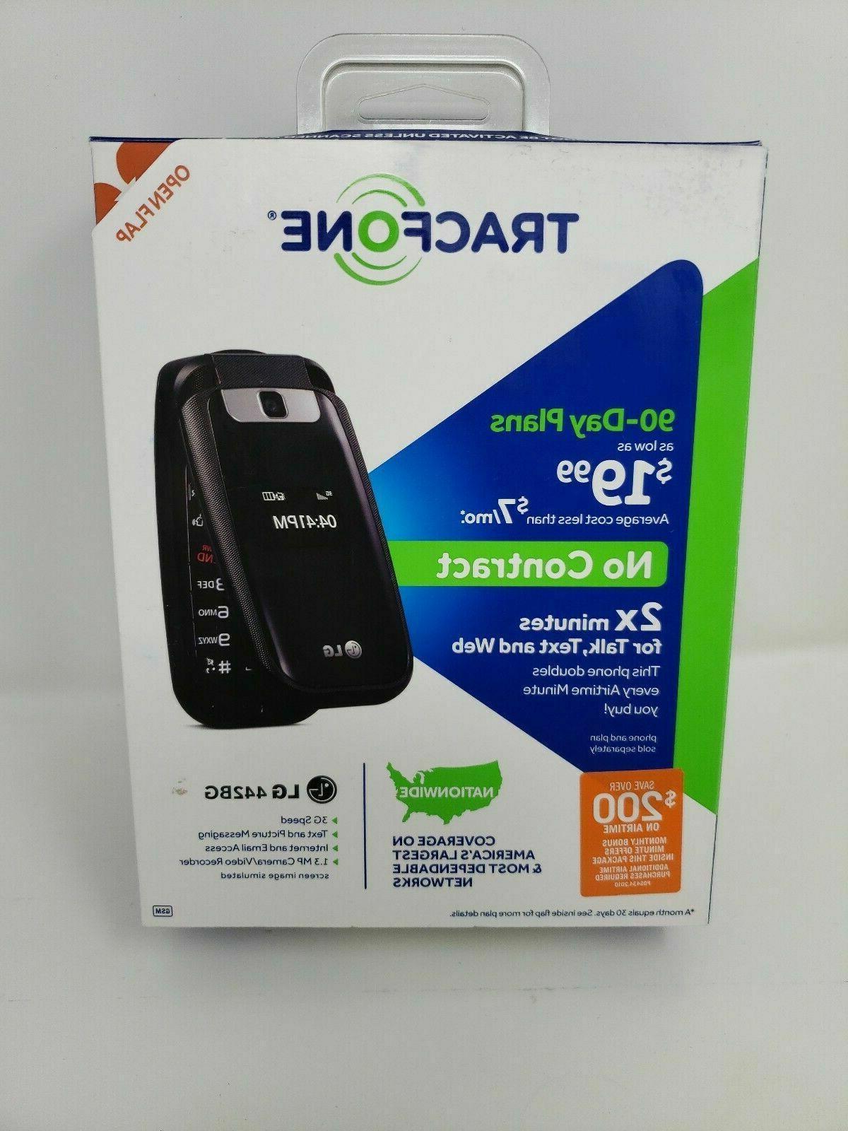 TracFone LG L441G Prepaid Phone - Packaging