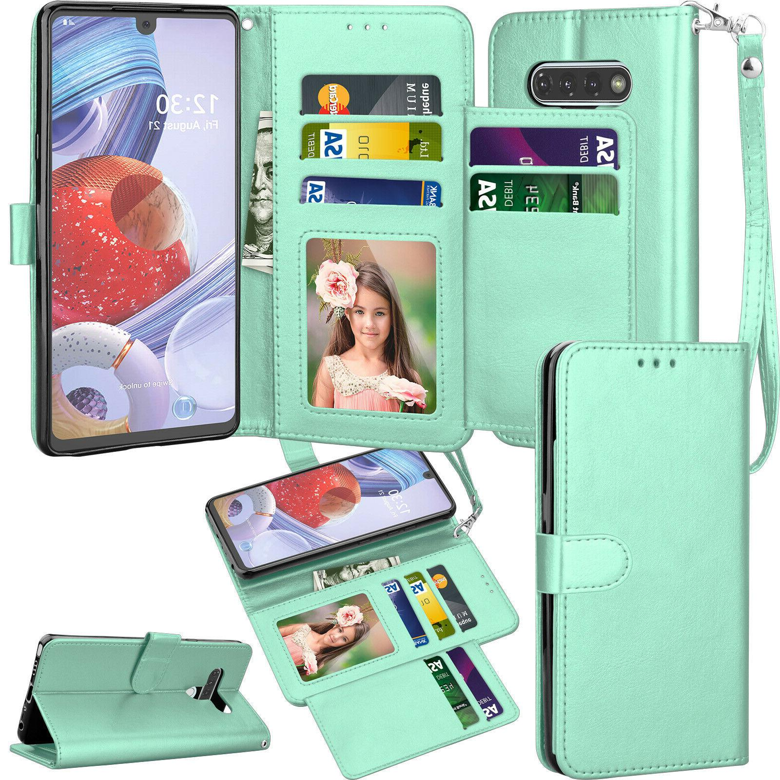 For Phone Case Flip Leather Card Holder Protective