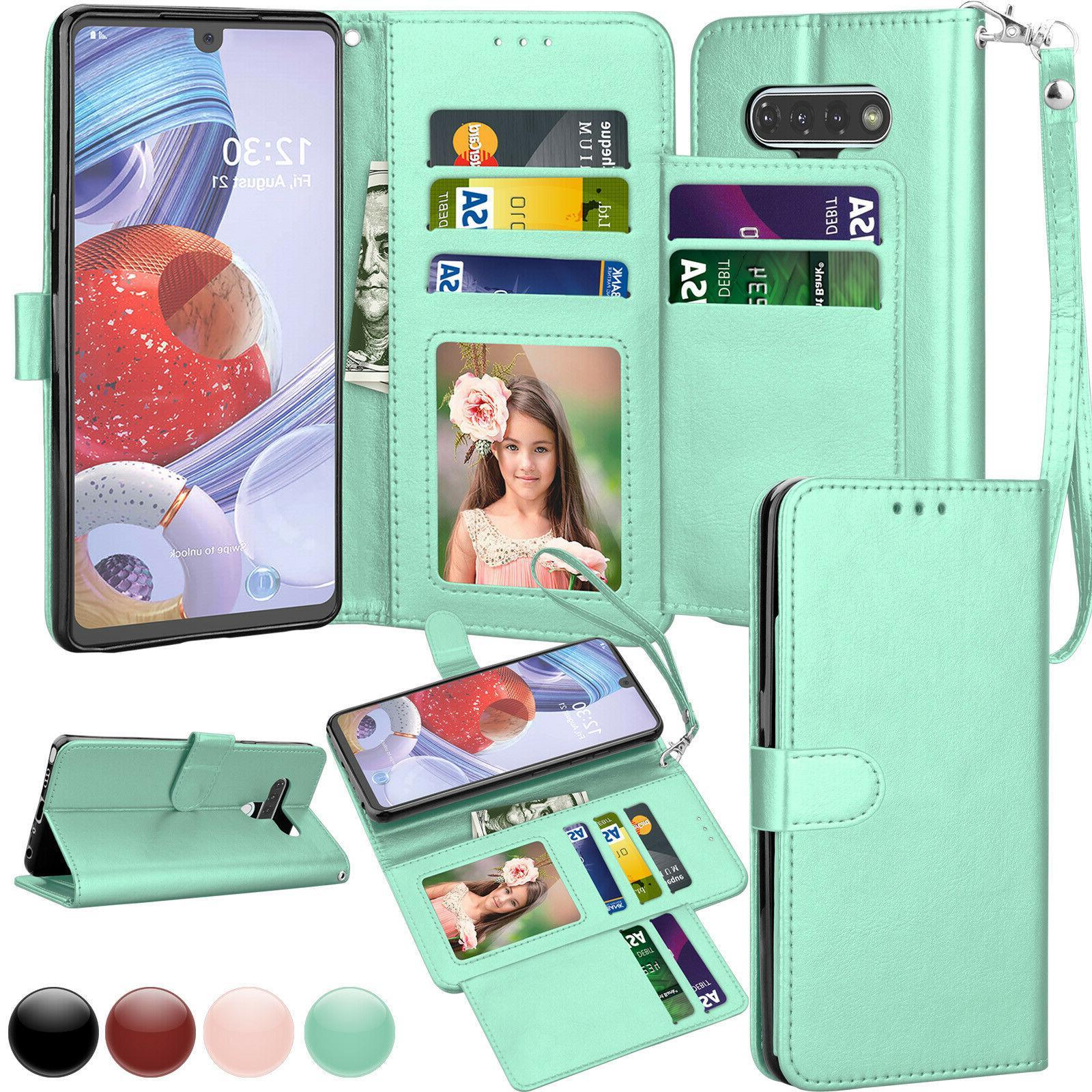 lg stylo 6 phone wallet case