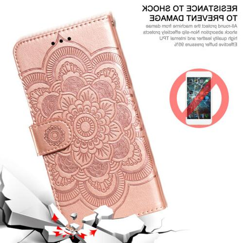For 6 Stylo 5 4 Phone Flip Leather Stand
