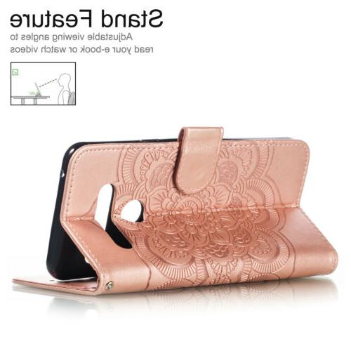 Stylo 5 Phone Case Magnetic Leather Wallet