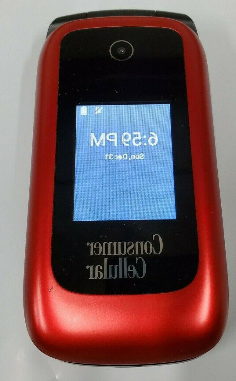 ZTE Red Z2332CC UNLOCKED