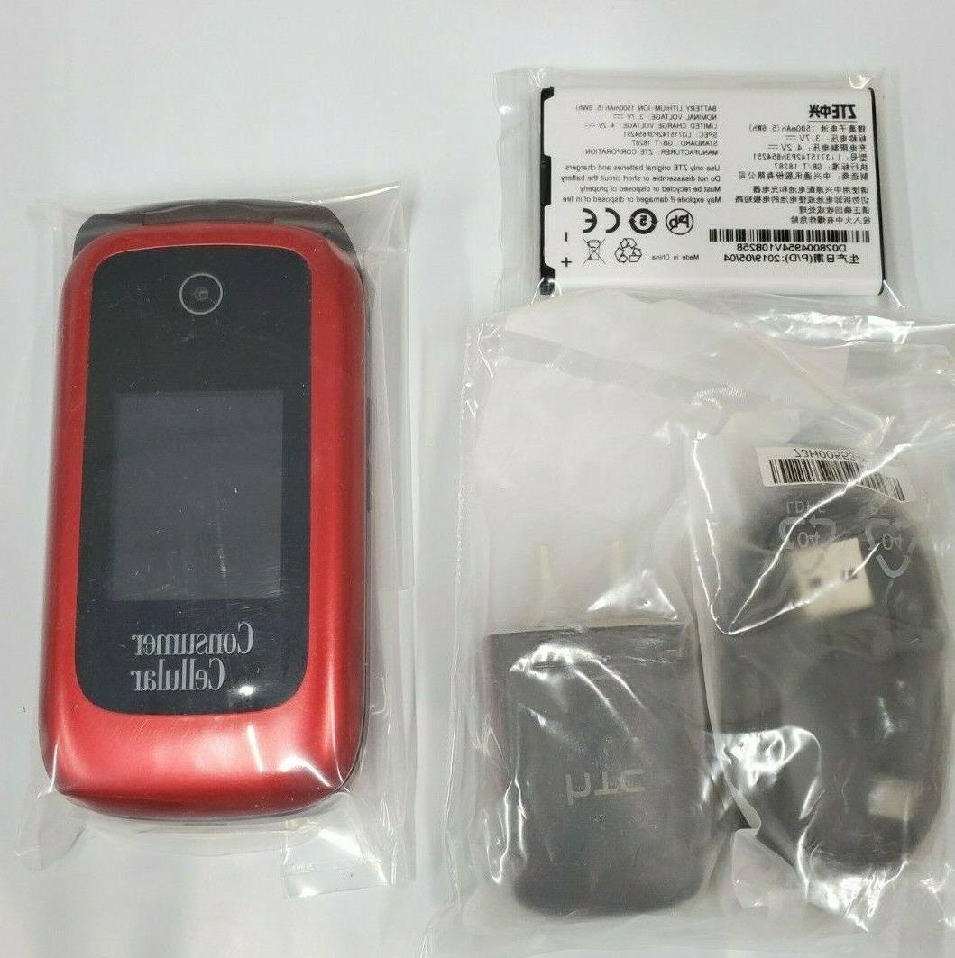 ZTE Link Phone Red Z2332CC 4G UNLOCKED