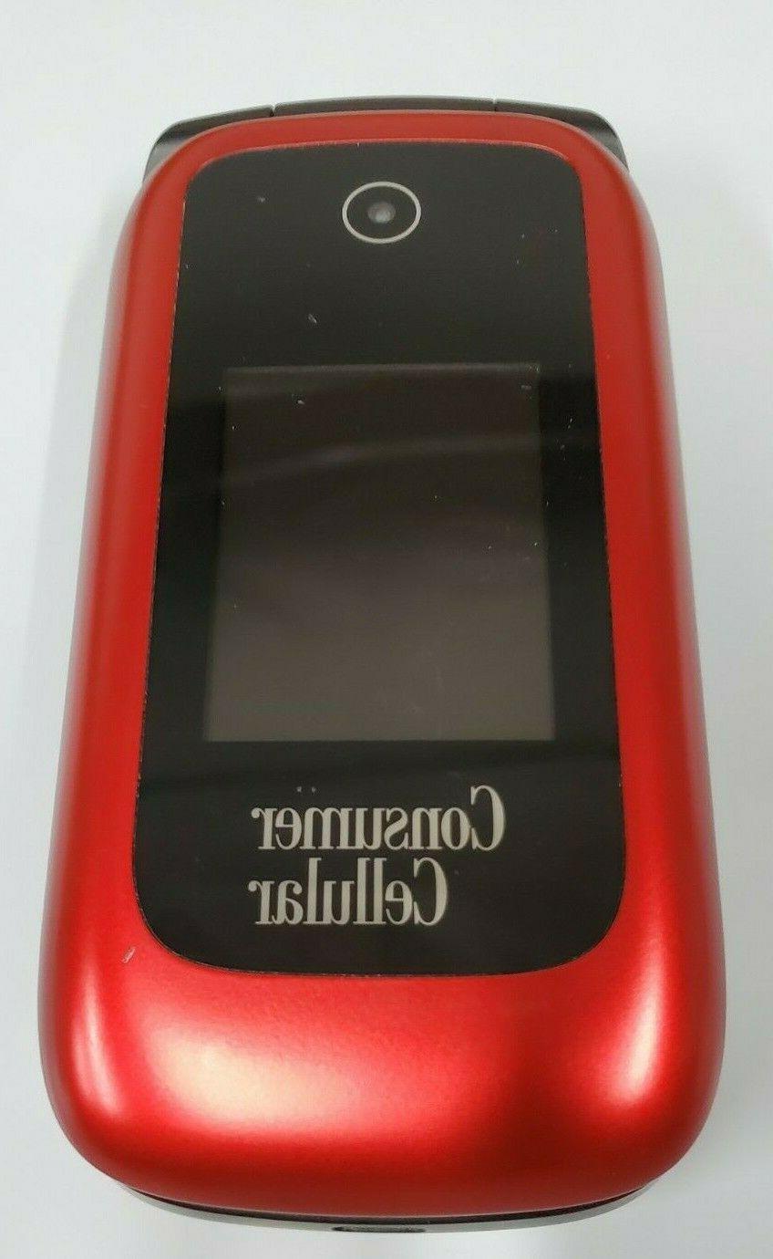ZTE Link Flip Phone Red UNLOCKED