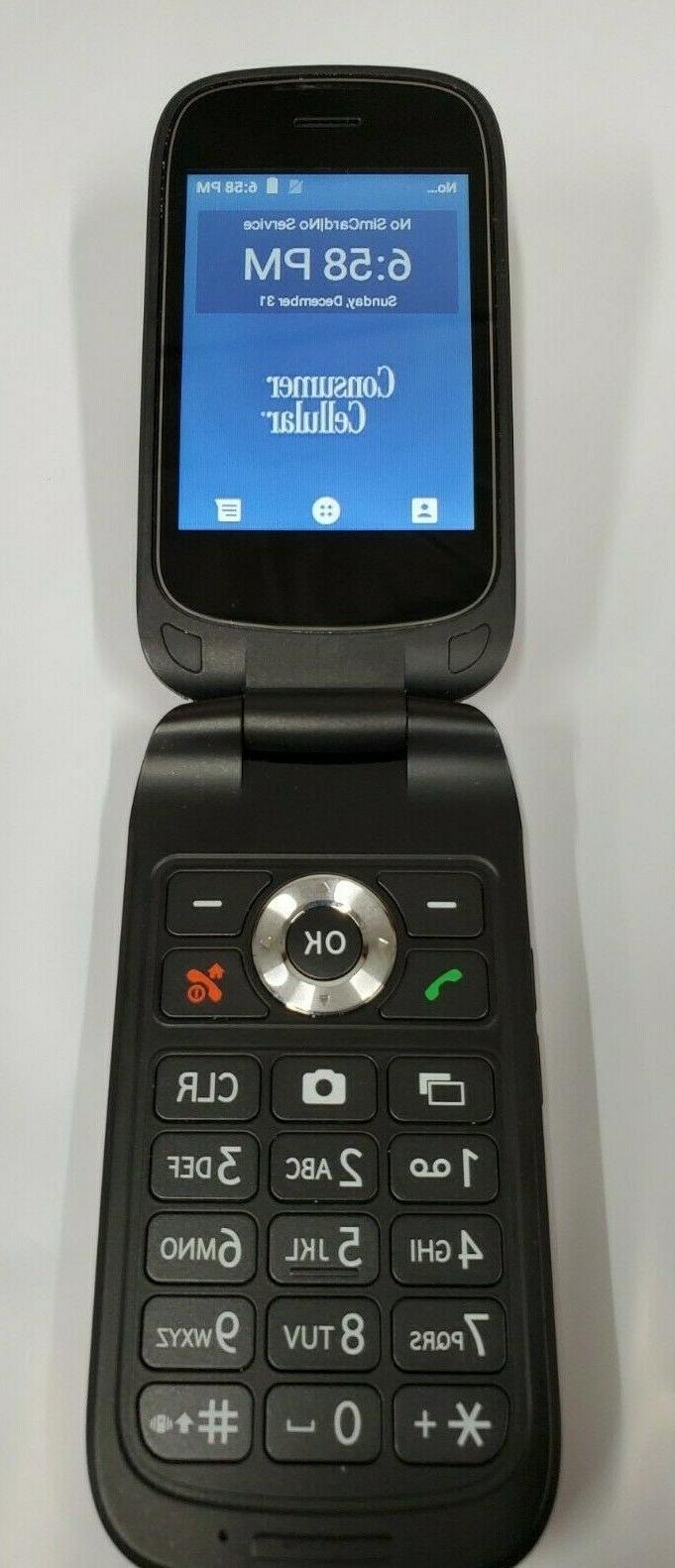 link flip phone red z2332cc 4g gsm
