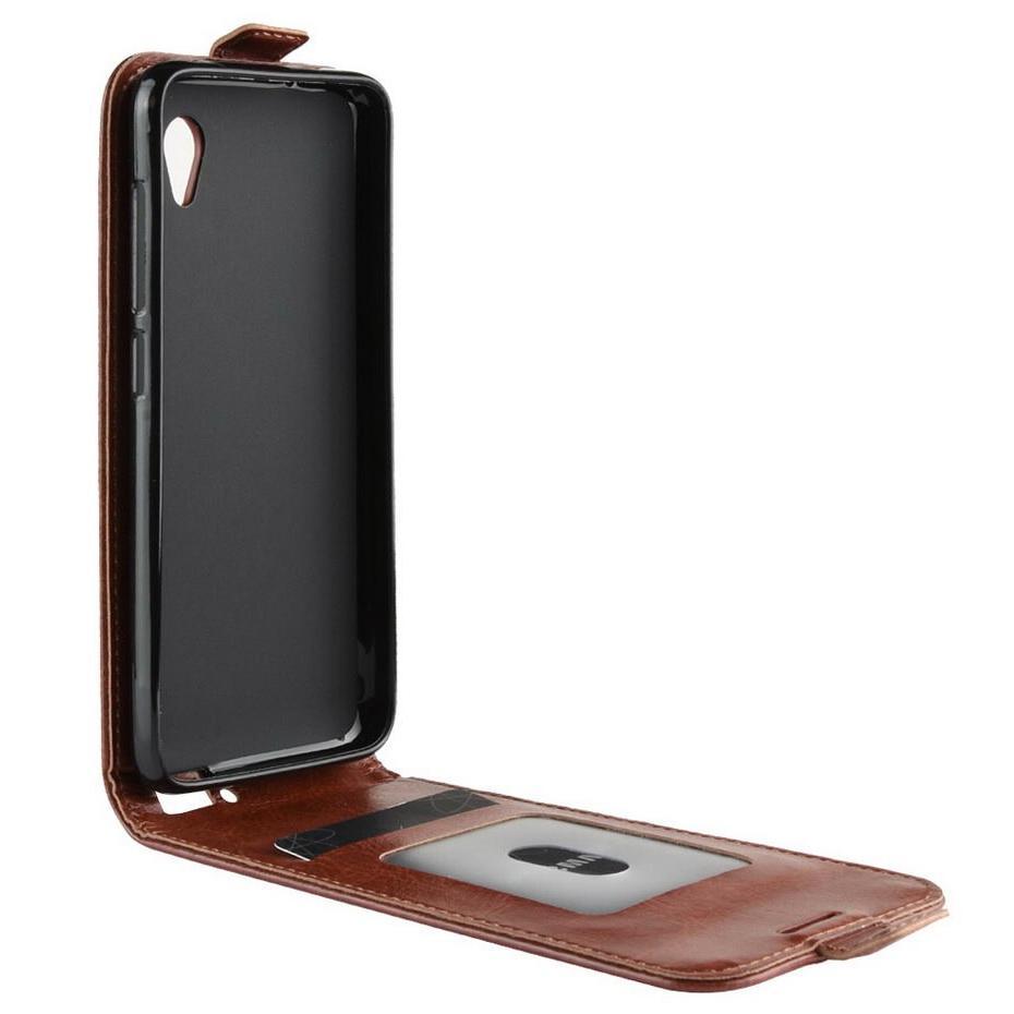 Luxury Wallet PU Leather <font><b>Phone</b></font> Case For <font><b>Alcatel</b></font> 1 5033 5033Y for <font><b>Alcatel</b></font> 1 Case Back