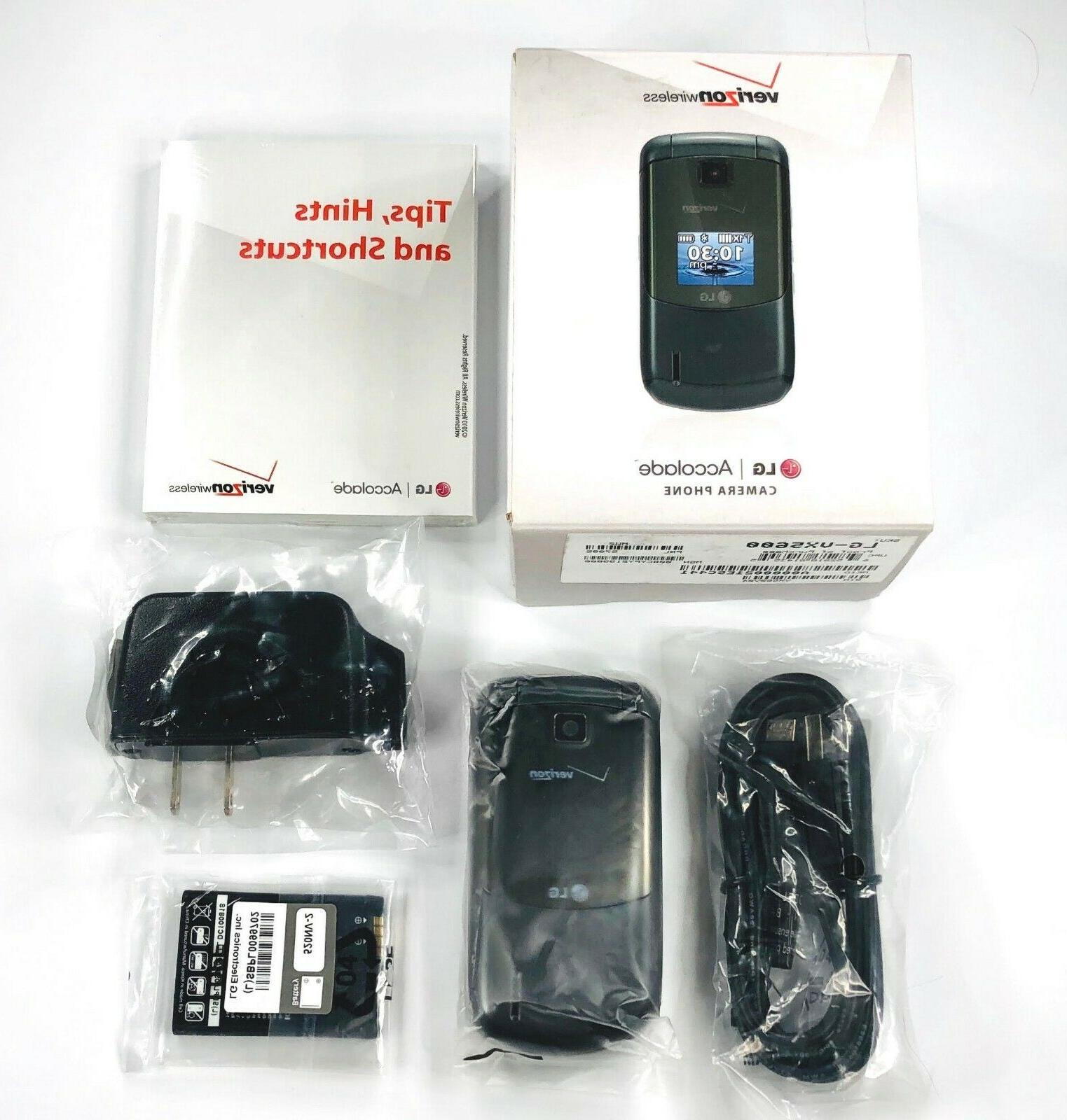 NEW VX5600 Prepaid 3G Flip Phone