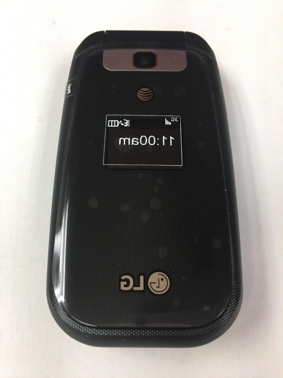 New LG AT&T Unlocked GSM Camera Flip Phone