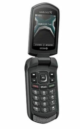 NEW Black Rugged Flip Phone