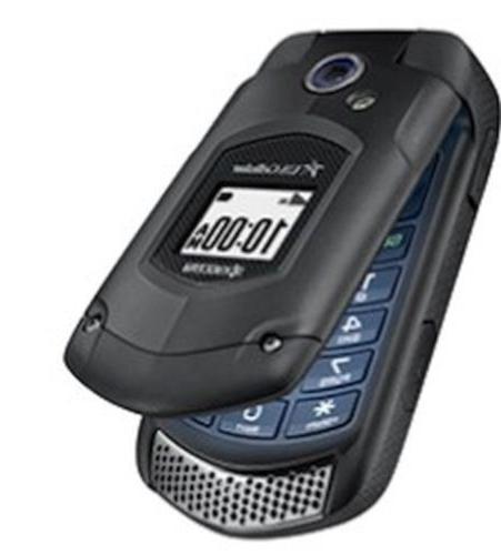 NEW DuraXA Black Flip Phone