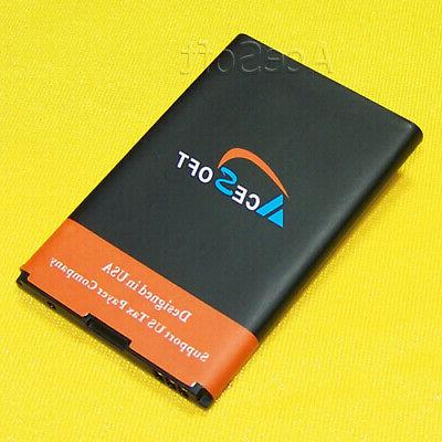 new extended slim 1800mah battery for zte