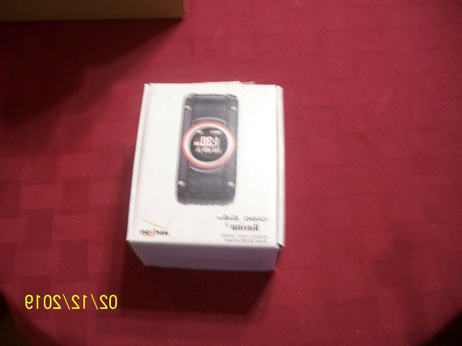New Casio G'zOne 2 - Black Phone