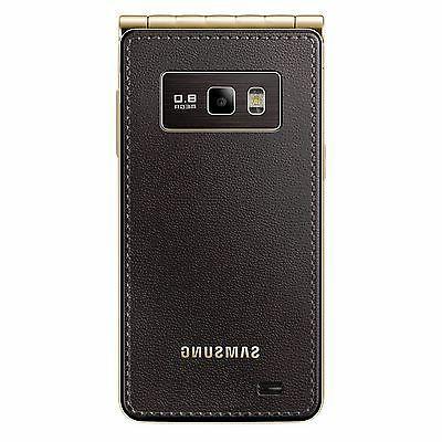 New Samsung Galaxy Golden GT-I9235 16GB Flip Factory Unlocked 4G/LTE GSM