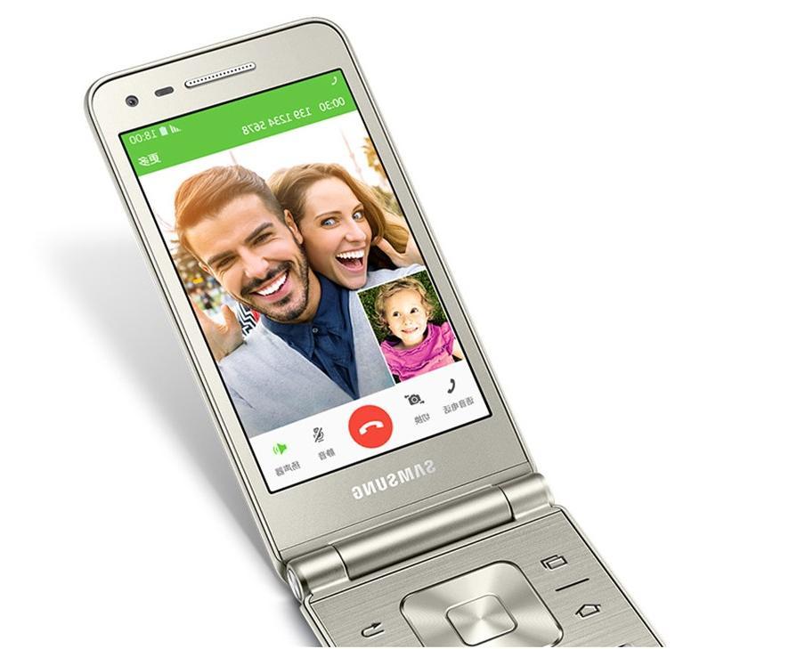 Original <font><b>Samsung</b></font> Galaxy Folder G1600 Core 16GB ROM 6.0 <font><b>Flip</b></font> Smartphone