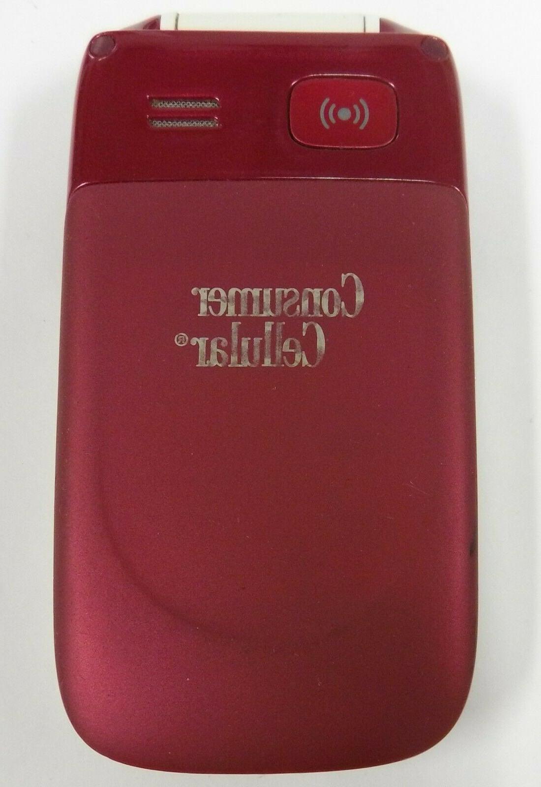 Doro PhoneEasy 626 Red Flip Phone -