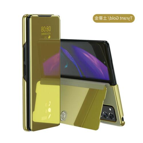 Plating Stand Phone Case For Samsung Galaxy Fold2