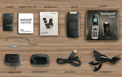 Easyfone Unlocked Flip Phone, Unlocked and