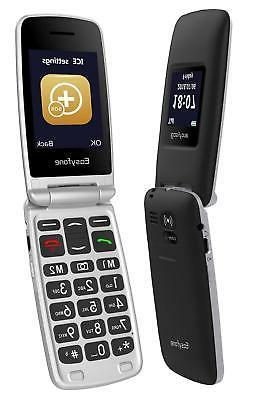 Easyfone A1 Unlocked Senior Flip Cell Phone, to AT&T and