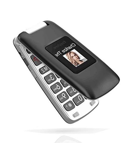 Easyfone Prime Unlocked Phone, Big Aids Compatible Cell Phone Charging