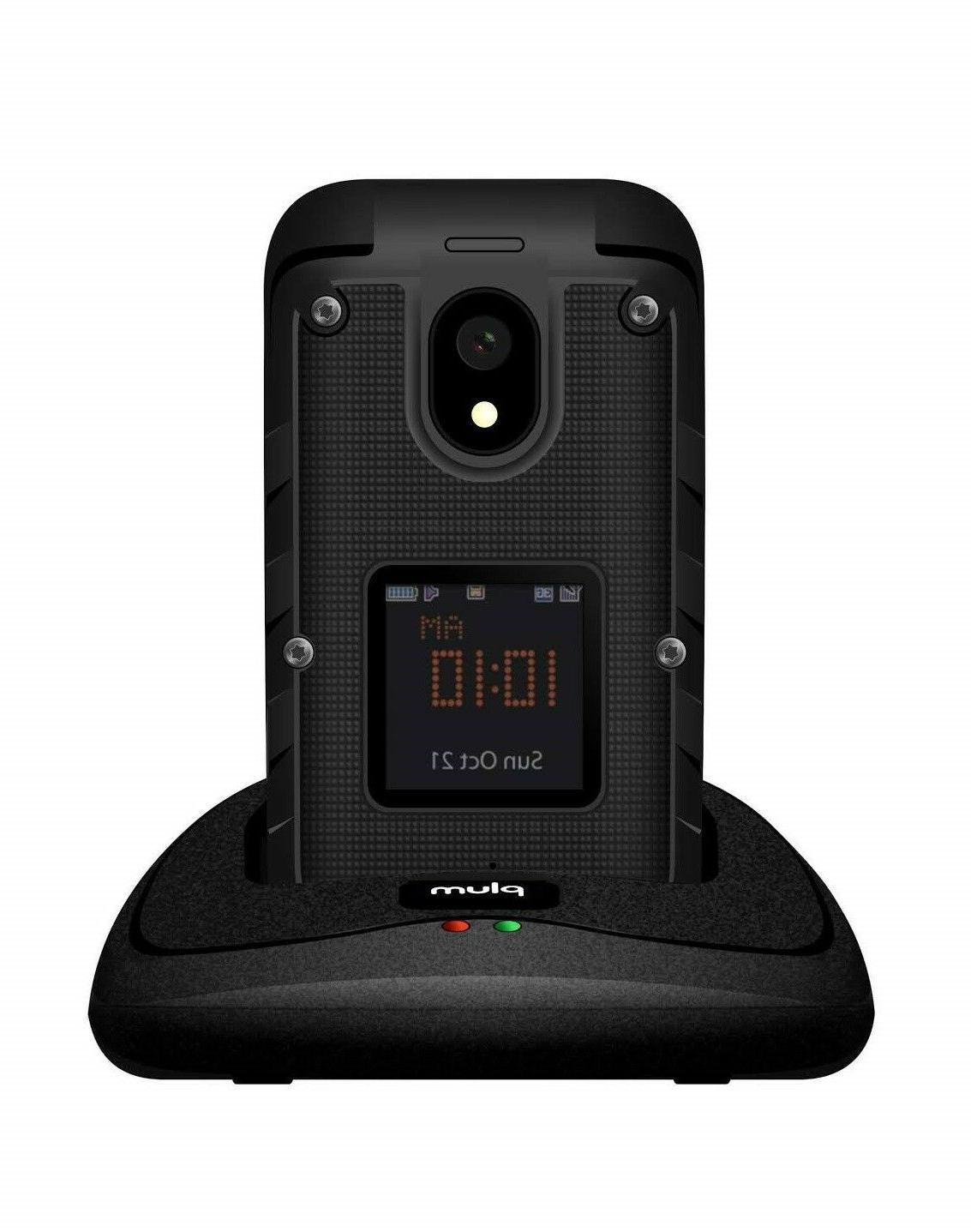 Plum 8 - Unlocked Flip 4G GSM IP68 Tmobile