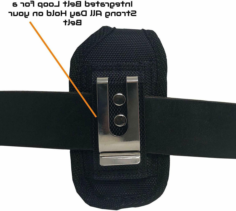 Rugged Belt Clip Case Pouch Alcatel Jitterbug