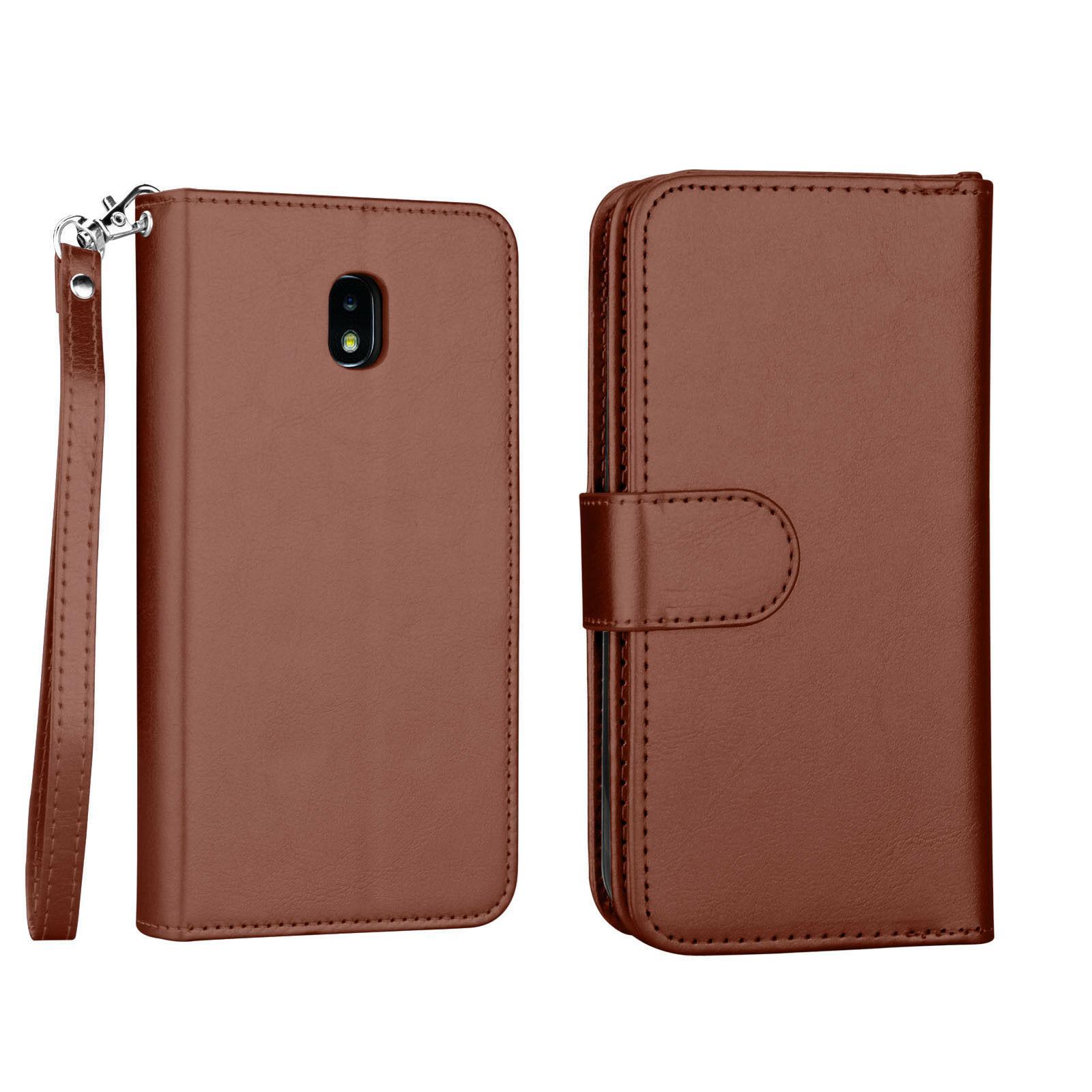 For J3 Star/Orbit /J3 V Flip Leather Wallet Phone