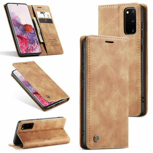 Note10 Plus S10 S8 Flip Phone Cover