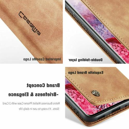 For Samsung S20 Note10 S8 Flip Phone Case