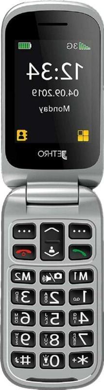 Jethro Flip Senior Cell Phone, Cer