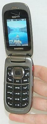 Samsung SCH-U660 Convoy 2 GRAY Verizon Wireless Flip Cell Ph
