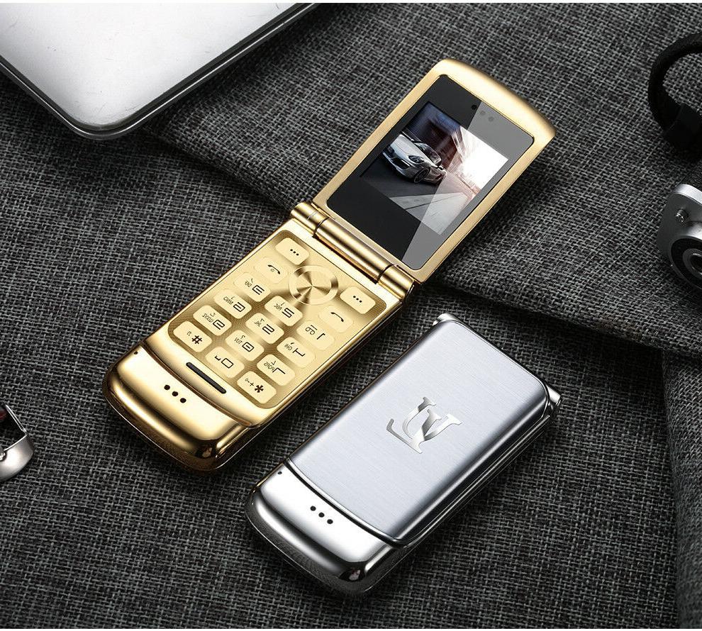 Smallest Flip V9 Phone Mini Dual