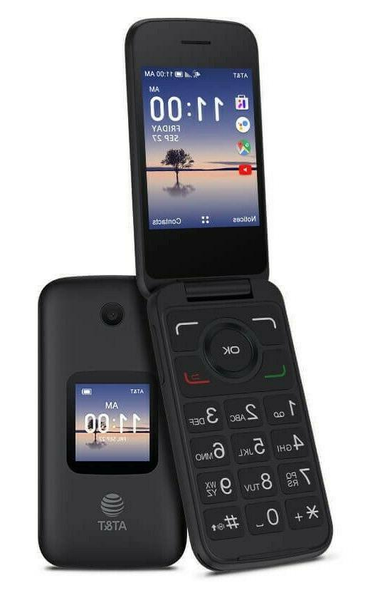 Alcatel SMARTFLIP 4052R | 4G LTE | 4GB Durable flip phone!