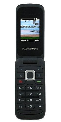 Straight Talk Motorola Moto W418G GSM Prepaid Flip Cell Phon