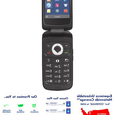 tracfone z233vl 4g lte prepaid flip phone