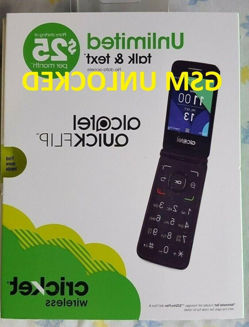 UNLOCK GSM Alcatel Quick T-MOBILE & WORLDWIDE