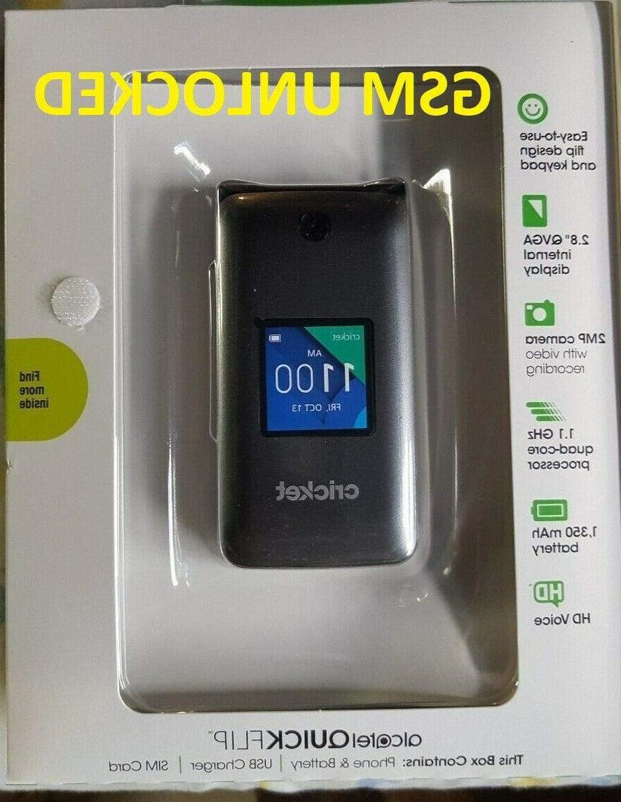 UNLOCK GSM international Phone Alcatel Flip T-MOBILE &