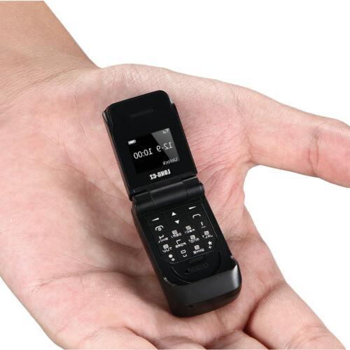 Unlocked World Smallest Flip Bluetooth V3.0