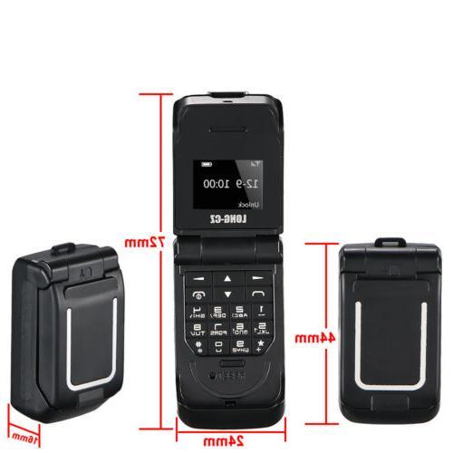 Unlocked Black Smallest Flip Bluetooth V3.0