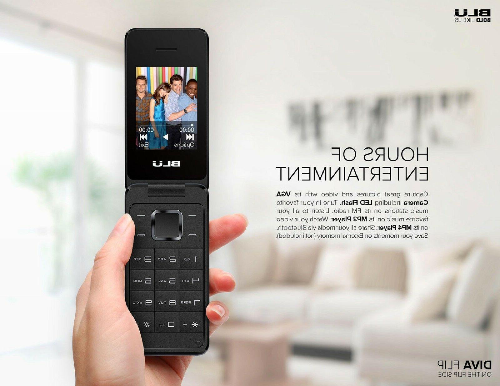 Unlocked phone 1.8'' Display 2G Flip Cell